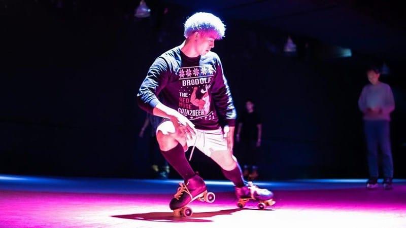 Skating di Hi Roller. Instagram @njltheawesome