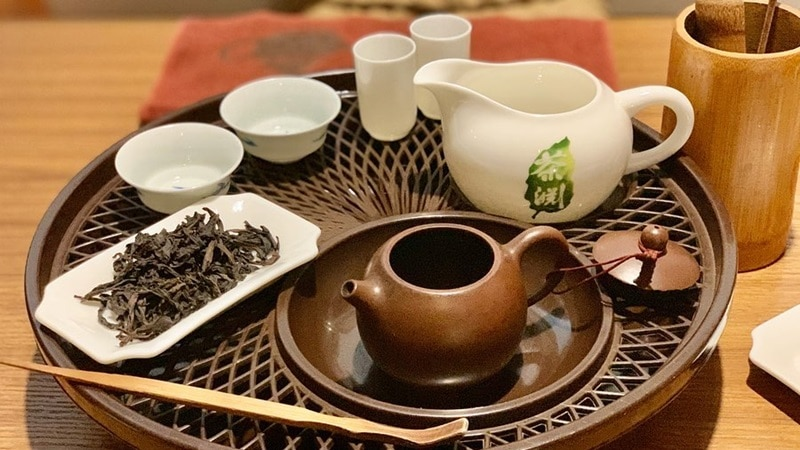 Tea Chapter. Instagram @mutsucoto_singa