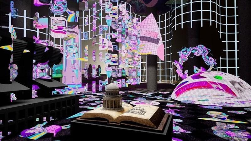 Visual arsitekturalac Inggris di Archifest. Instagram @archifest