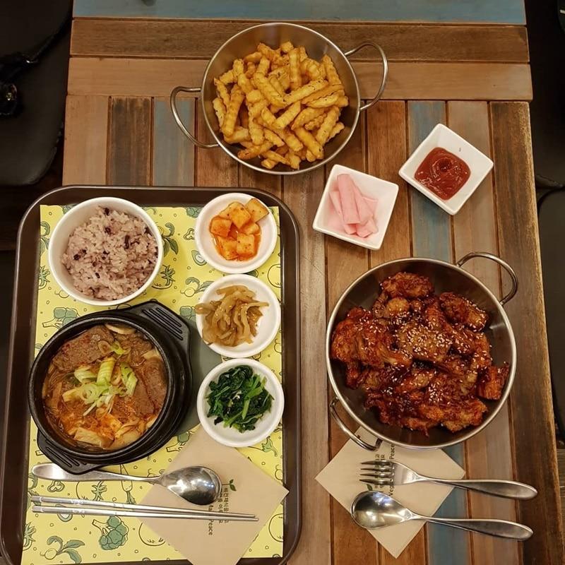 makanan korea halal Seoul