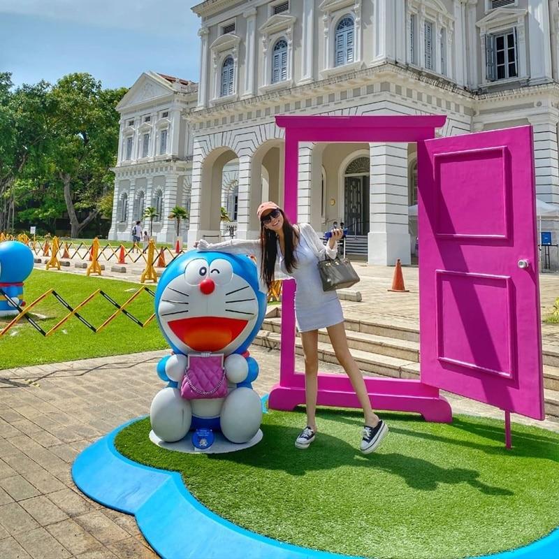 Doraemon's Time-Travelling Adventures. Instagram @cherrylovelyyyy