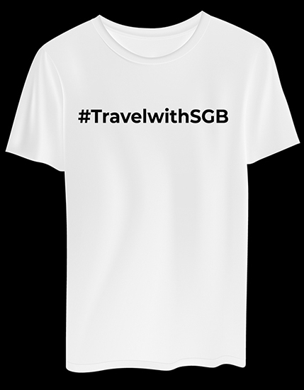 T-Shirt 2 SGB Lengan Pendek
