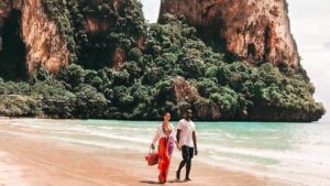 FI Railay Beach. Instagram @travelistica