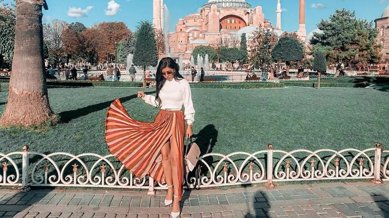Hagia Sophia Turki. Instagram @camy_vlas