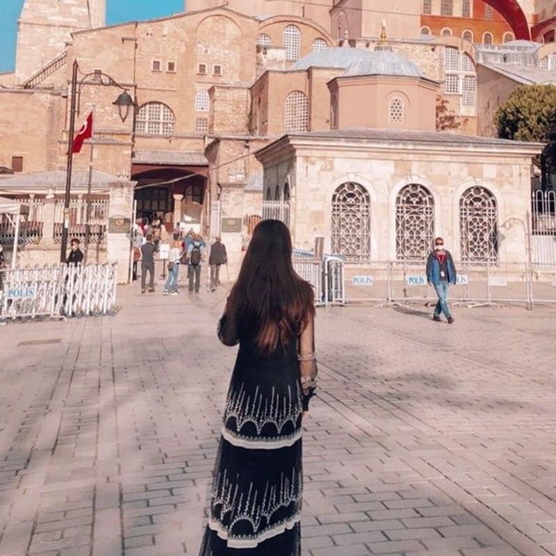 Halaman Hagia Sophia. Instagram @belbe_daniela