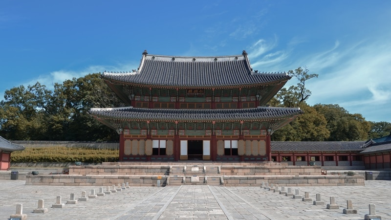 Ilustrasi Changdeokgung di Seoul. Photo by Arrigo Lupori on Unsplash