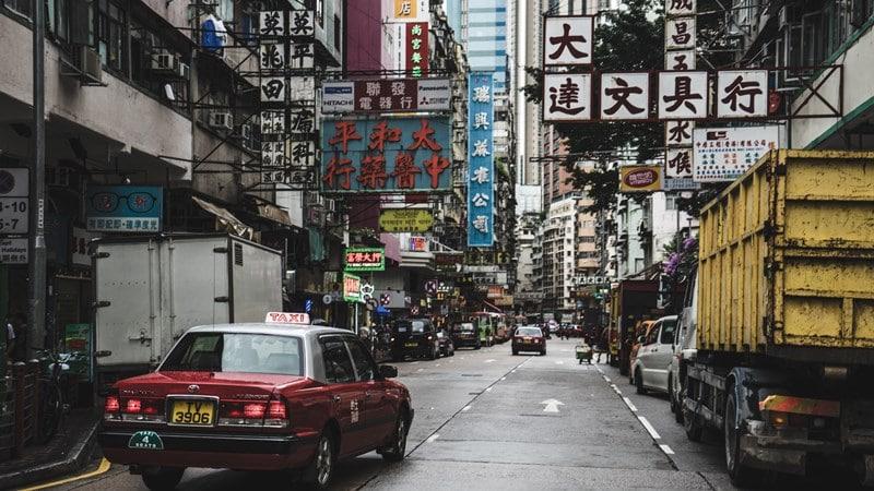 Ilustrasi Hong Kong. Photo by Bantersnaps on Unsplash