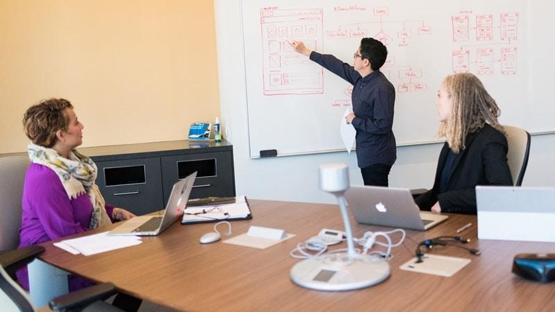Ilustrasi tim software engineer sedang rapat. Photo by Christina on Unsplash