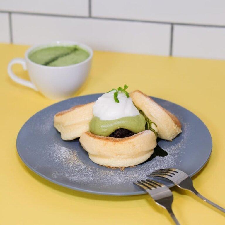 Kiseki Pancake Matcha. Instagram @flippers.singapore