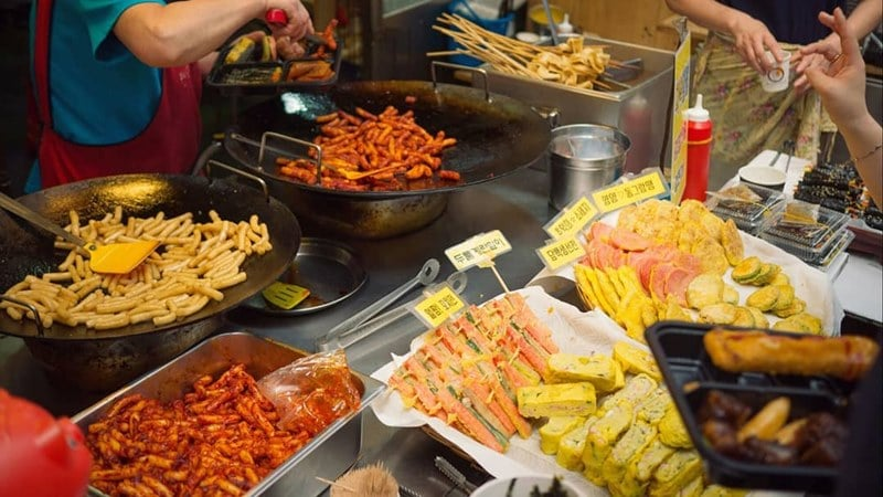 Street Food Halal di Korea
