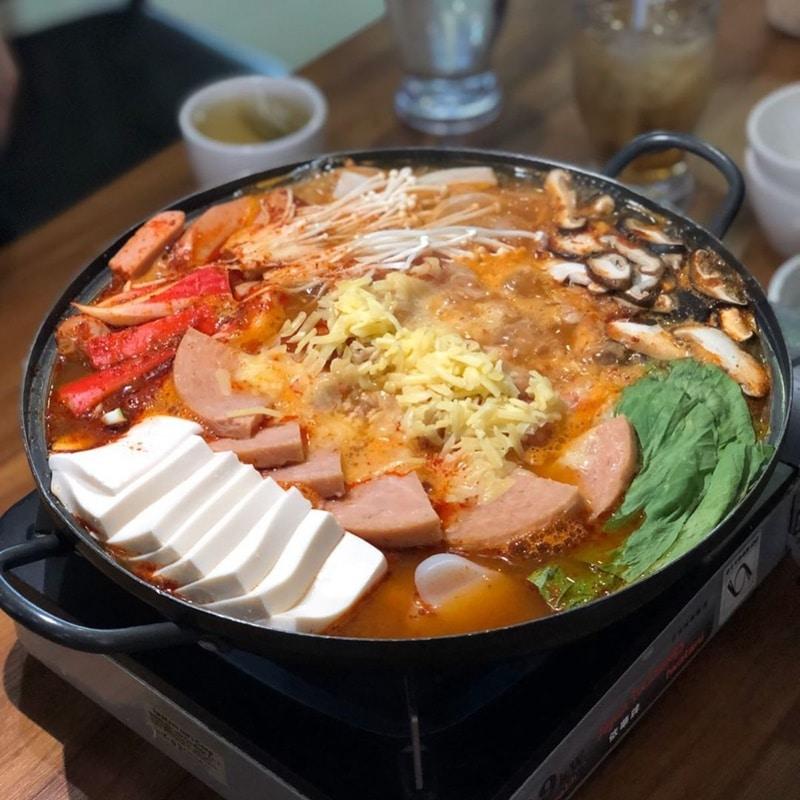 Muk-Bang Korean Restaurant. Instagram @foodie_emilly