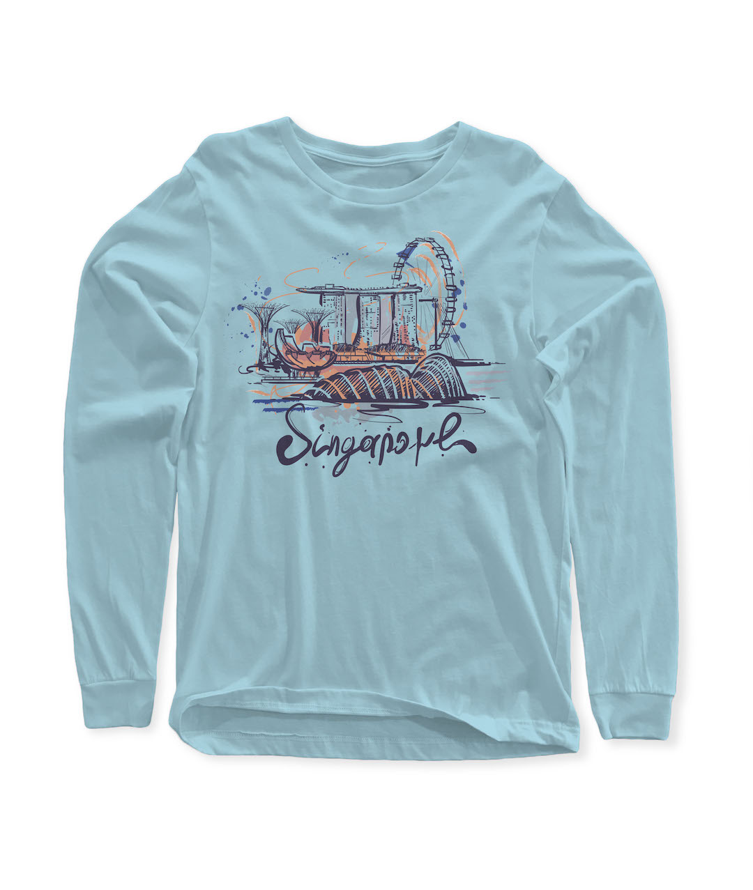 SGB Merchandise T-Shirt 3 Lengan Panjang