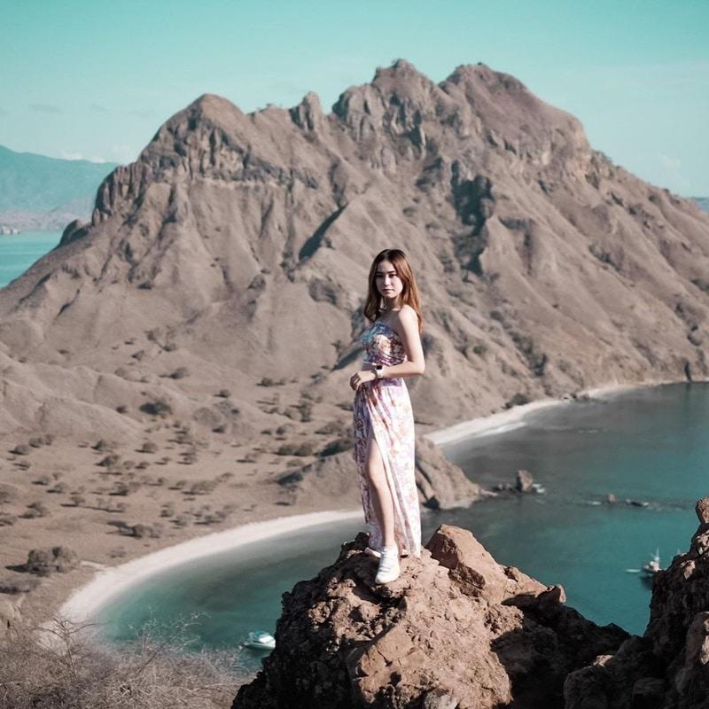 Pulau Padar. Instagram @michelleeeck99