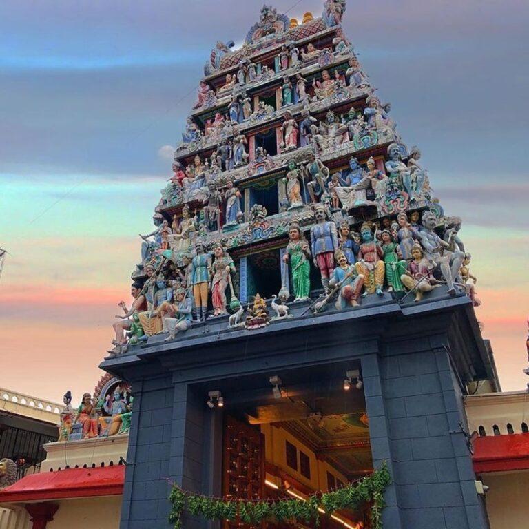 Sri Mariamman Temple. Instagram @_hawl_mode