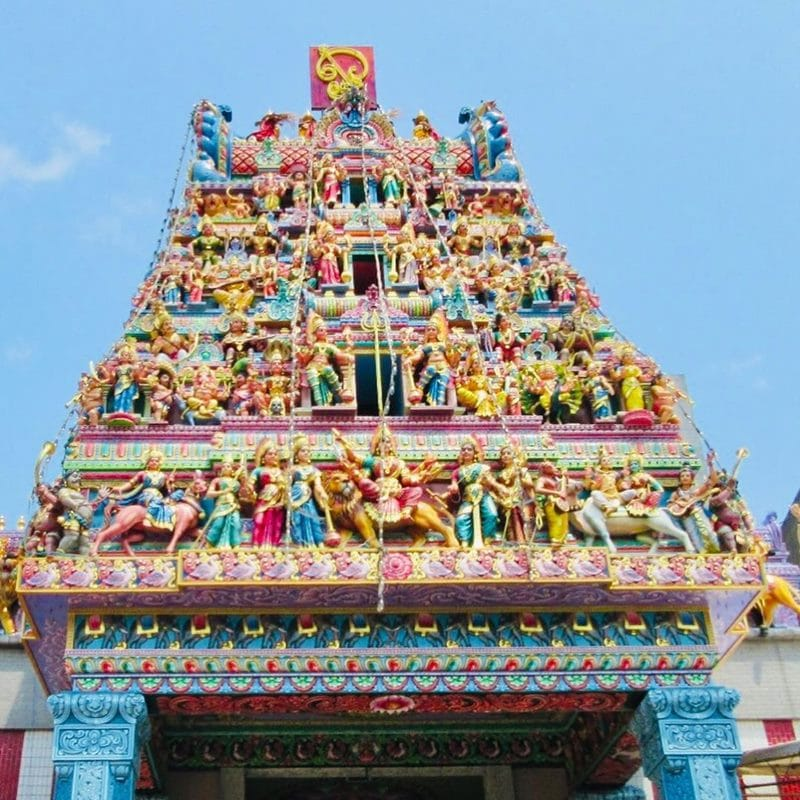 Sri Veeramakaliamman Temple. Instagram @ry0k0.ig