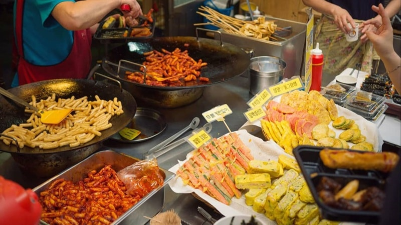 Street Food Halal di Seoul