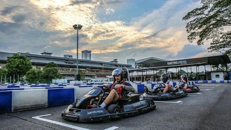 The Karting Arena Bukit Timah. Instagram @thekartingarena
