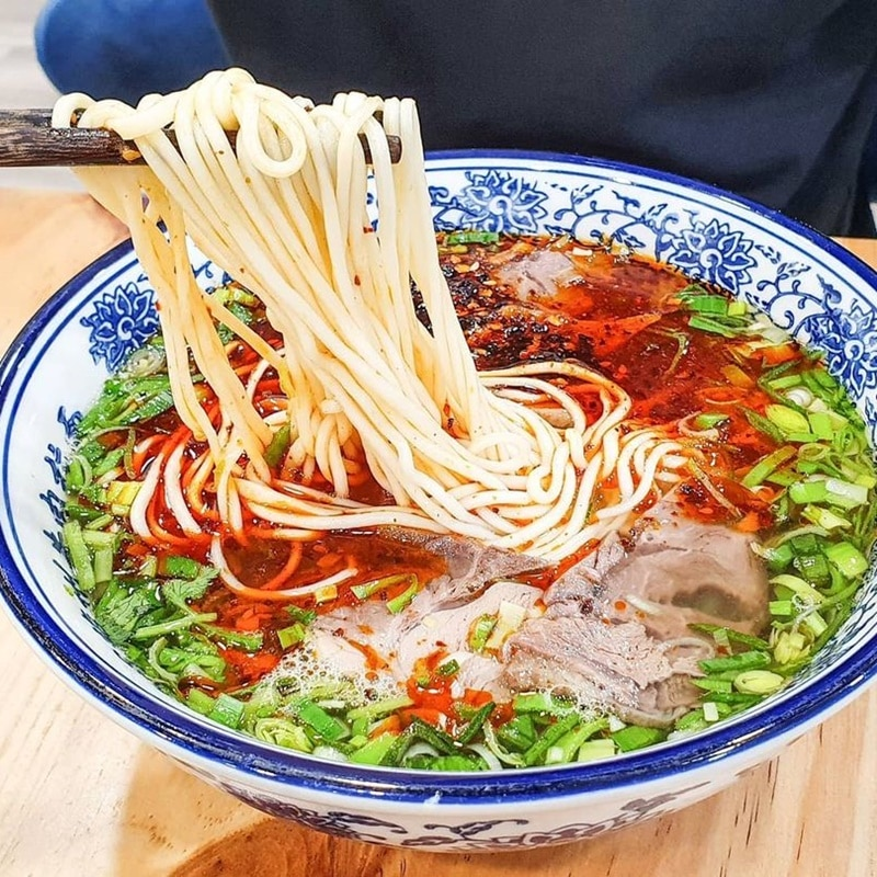 Tongue Tip Lanzhou Beef Noodles. Instagram @thefoodtiles