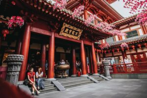 Buddha Tooth Relic Temple & Museum. Photo by Instagram @lgxgxl