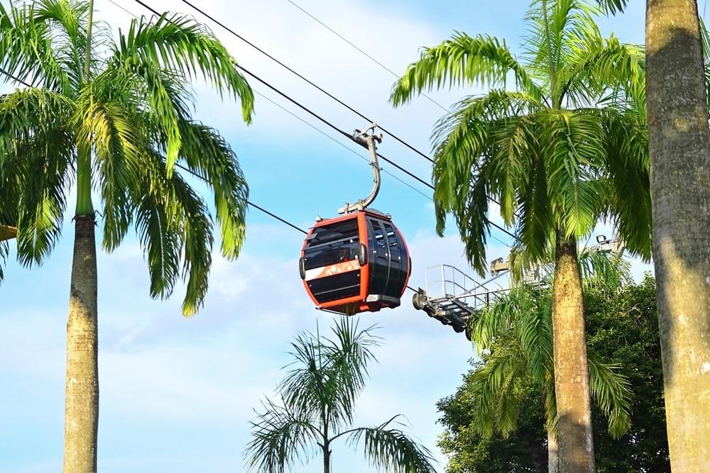Ilustrasi cable car Pulau Sentosa. Photo by Pixabay Cedric Yong