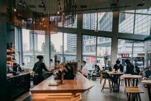 Ilustrasi kafe di Novena Singapura. Unsplash Isaac Matthew