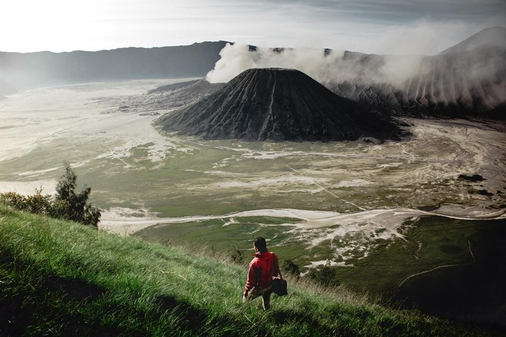 Ilustrasi penampakan Gunung Bromo. Photo by Unsplash Iswanto Arif