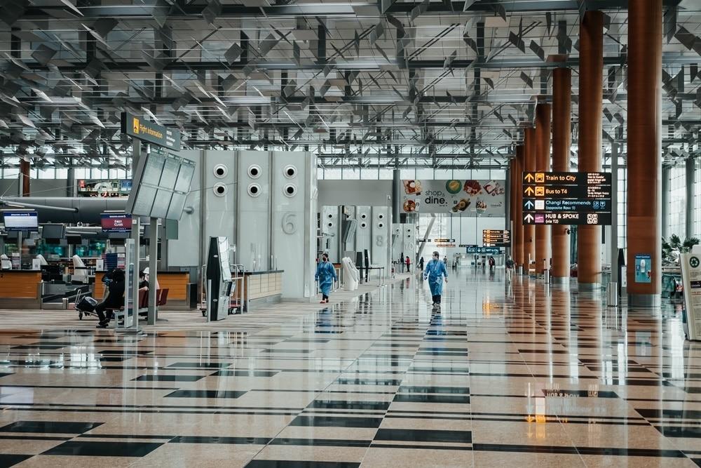 Changi Airport Singapore. Unsplash shawnanggg