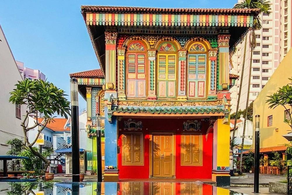 House of Tan Teng Niah di Little India Singapura. Instagram @clicknsnapshot