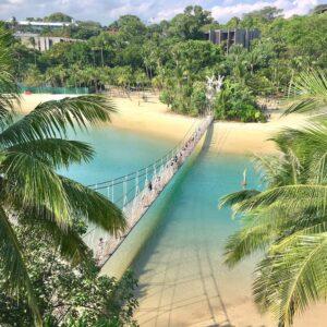 wisata gratis di pulau sentosa